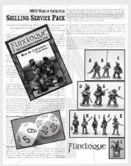War in Catalucia Starter Set - Shilling Service Pack