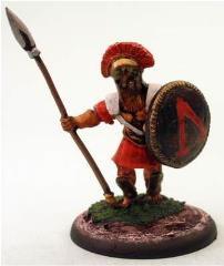 Greek Hoplite w/Spear 3