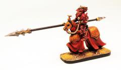 Lord Ruza on Armoured Horse