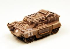 Grey Adder Wheeled APC Battle Taxi