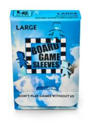 Board Game Card Sleeves - Non-Glare, Large (50)