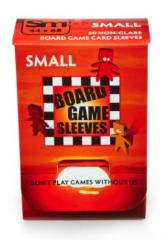 Board Game Card Sleeves - Non-Glare, Small (50)