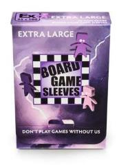 Board Game Card Sleeves - Non-Glare, Extra Large (50)