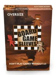 Board Game Card Sleeves - Non-Glare, Oversize (50)