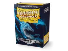 Standard Sleeves - Matte Night Blue (100)