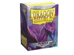 Standard Sleeves - Non-Glare Matte Purple (100)