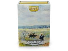 Board Game Card Sleeves - Poppy Field (100)