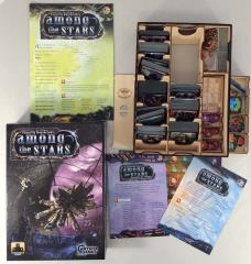 Among the Stars Collection #2 - Base Game w/2 Expansions and Broken Token Organizer