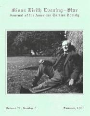 "Vol. 21, #2 ""A Tribute in Haiku to J.R.R. Tolkien"""
