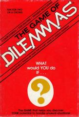 Game of Dilemmas, The