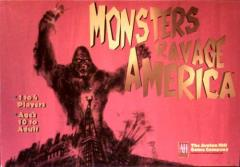 Monsters Ravage America board game