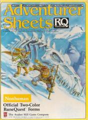 Adventurer Sheets - Nonhuman