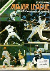 Statis Pro Baseball (1980 Edition)