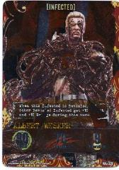 Promo Card - Albert Wesker, Infected