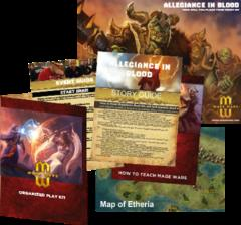 Mage Wars Organized Play Kit #2 - Allegiance in Blood
