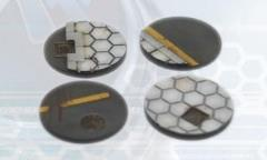 40mm Hex Bases - Round