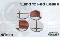 40mm Landing Pad Bases - Round