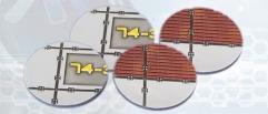 55mm Landing Pad Bases - Round