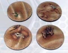 40mm Badlands Bases - Round