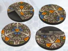 40mm Arabesque Bases - Round
