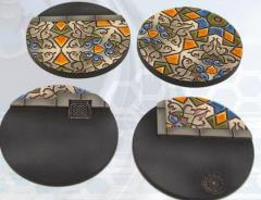 55mm Arabesque Bases - Round