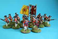British Regular Infantry Unit
