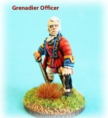 British Grenadier Officer