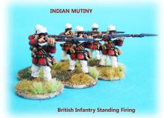 British Infantry Unit - Firing