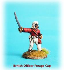 British Officer w/Forage Cap