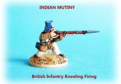 British Infantry Kneeling Firing