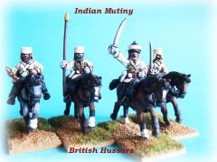 British Hussar Troopers