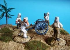 British 9lb. Gun & Crew