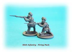Sikh Infantry - Firing