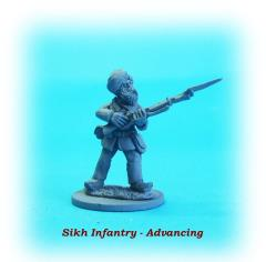 Sikh Infantry - Advancing