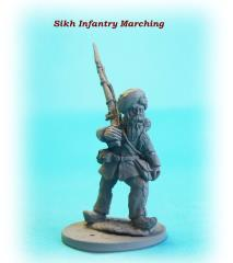 Sikh Infantry - Marching
