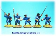 Ashigaru Fighting