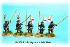 Ashigaru w/Yari Spears