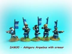 Ashigaru Arquebus Pack w/Armor