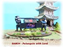 Palanquin w/Lord