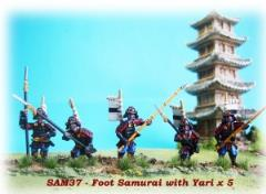 Foot Samurai w/Yari