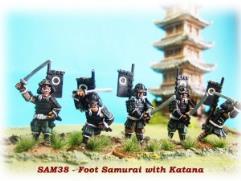Foot Samurai w/Katana