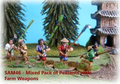 Peasants w/Farm Weapons (12)