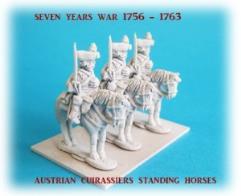 Austrian Cuirassiers on Standing Horses