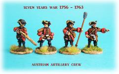 Austrian Artillery Crew