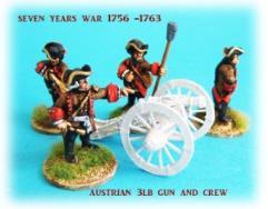 Austrian 3lb Gun and Crew