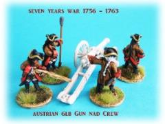 Austrian 6lb Gun and Crew