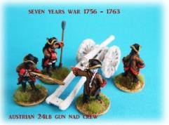 Austrian 24lb Gun and Crew