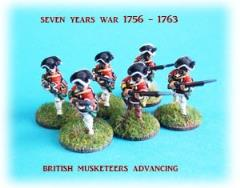 British Musketeer Advancing
