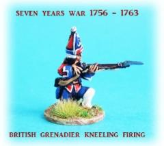 British Grenadiers Kneeling Firing