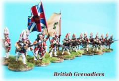 British Grenadiers Unit Firing